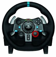 Game Steering Wheel Playstation & Windows Video Gaming Force Feedback Race Wheel