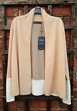 BNWT Marks & Spencer Collection 100% Cashmere Colour Block Cardigan (Size S)