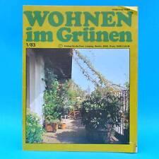 DDR Wohnen im Grünen 1/1983 Verlag für die Frau Y Imker Leipzig Rankgerüste Pilz