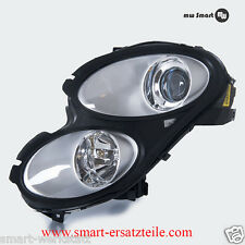 Headlight Smart Forfour Right With Actuator and Light Original Oe