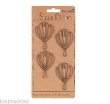 4x BALLOON PAPERCLIPS CRAFT HOME DECORATION OFFICE CLIP TO DO STATIONERY GIFT