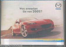 Mazda RX-8 Werbe-CD advertising cd Was erwarten Sie von 2005? Horoskop Auto PKWs