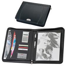 Schreibmappe DIN A4 - Aktenmappe aus Bonded Leder (Lederfaserstoff)