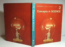 Concepts In Science Vintage Textbook 1966 Brandwein Vol. 2 Hard cover book