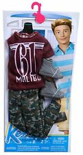 NEW 2014 BARBIE LIFE IN THE DREAMHOUSE KEN CASUAL SHIRT & PANTS FASHION #CFY04
