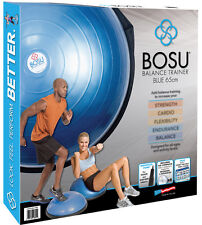 BOSU Ball Home Balance Trainer with 6 DVD Fitness Workout Video NEW- SHIPS FREE!