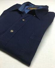 Ralph Lauren Boy Scout Label Button Down 100% Cotton Shirt 17.5  34-35