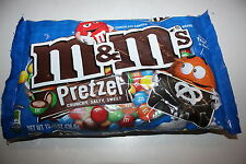 USA M&M's PRETZEL Chocolate Candies 436.6g bag
