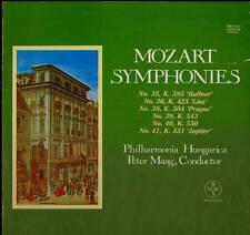 CLASSICAL LP BOX SET MOZART SYMPHONIES VOL V MAAG PHILHARMONIA HUNGARICA