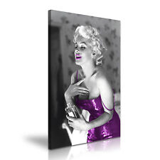 MARILYN MONROE & PROFUMI icona CANVAS WALL ART PICTURE PRINT A1 dimensioni 50x76cm