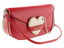 Moschino JC4043 150A Red/Ivory Shoulder Bag