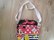Girls Disney Minnie Mouse Shoulder Bag Junior School Red Shopped Out by Sambro