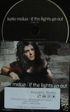 KATIE MELUA If The Lights Go Out 2008 UK 1-trk promo CD