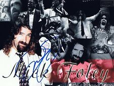 Mick Foley Autographed 8x10 Photo  w/COA - WWE Mankind, Dude Love, Cactus Jack