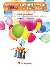 Happy Birthday to You and Other Great Songs : E-Z Play Today Volume 25 (2014,...