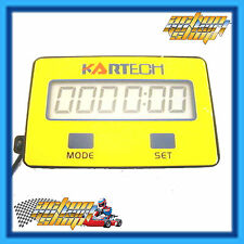 Go Kart TACHO Kartech MAX RPM Recall 2 & 4 Stroke Mode & ENGINE HOURS Recorded