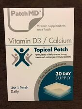 PatchMD Vitamin D3 / Calcium  * 30 Day Supply  -  SALE (limited time offer)