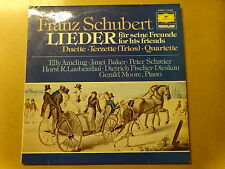 "2 X LP 12"" / FRANZ SCHUBERT, ELLY AMELING, JANET BAKER: LIEDER FOR HIS FRIENDS"