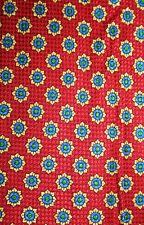 CAVENAGH MEN'S WOVEN SILK NECK TIE - BNWOT, GEOMETRIC DESIGN, BARGAIN PRICE