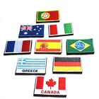 24 Nation Flag Emblem Iron On Patch Sew Embroider Trim 2
