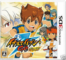Used Nintendo 3DS Inazuma Eleven Go Shine    NINTENDO 3DS JAPANESE  IMPORT