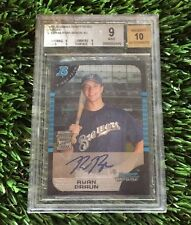 2005 Bowman Chrome Draft Picks Ryan Braun RC Rookie Brewers BGS 9 w/ 10 AUTO