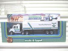 Matchbox 1992 CY16A Saudia Sky Sales Scania T142 Cab Box Truck Nu in C9 Mint Bx