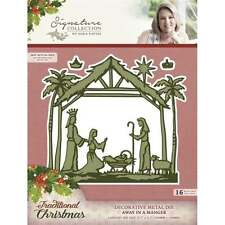 Away in a Manger -Crafter's Companion Sara Signature Traditional Christmas Die