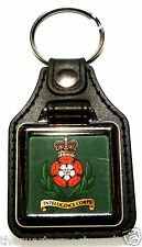 Intelligence Corps Leather Medallion Key Ring / Keyring