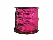 Sequin Row Pink (100m Reel) | Best Price on Ebay | Pink Strung Sequins