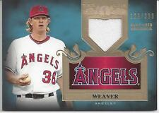 JERED WEAVER JERSEY RELIC #129/399!!! 2011 TOPPS TIER ONE # TSR-28! ANGELS!