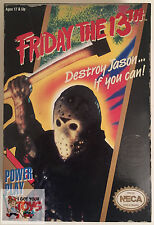 "JASON VOORHEES NECA VIDEO GAME MUSIC NES Friday The 13th 7"" INCH 2015 FIGURE"