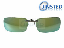 Revo Green Mirrored Clip On Polarised Sunglasses Clip-On Light Polarized ACP010