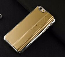 Gold Recharging Phone Case With Cigarette Smoke Lighter Cover for IPhone 5 5S SE