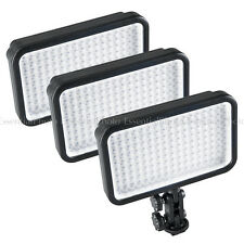 Quality 3xLED170 Camera LED Panel Portable Video Lights DSLR DV Film interview