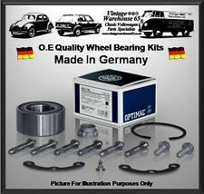 Vw Corrado 1.8 G60 160Bhp Coupe Rear Optimal Germany Wheel Bearing Kit