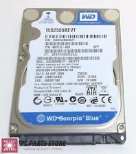 Western Digital 250GB 2.5 WD2500BEVT-60ZCT1 2061-701499-E00 AC FOR PARTS/REPAIR