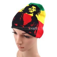 Bob Marley Jamaican Knitted Hat Cap Hip Hop Hedging Beanie Fashion Fans Gift