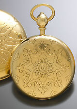 Massive 18K Gold Convertible Case Keywind English Lever Fusee Pocket Watch C1890