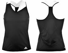 Adidas Response Tennis Womens Tank Sport Top Ladies Size 8 XS Stay Cool A641-10