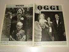 OGGI 1949/25=ASSIA NORIS=ANTOINE HABIB=AMEDEO D'AOSTA=COVER MAGAZINE=