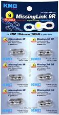 6 - Count Card KMC MissingLink 9 6.6mm for 9-Speed Chains Missing Link 9 Silver