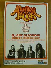 Monster Truck + The Picture Books - Glasgow march 2017 tour concert gig poster