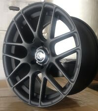 19'' Curva Wheels for BMW and Tires Black Rims 3, 5, 7 Series Staggered M3 M4 M5