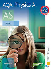 AQA Physics A AS Student Book by Jim Breithaupt (Paperback, 2008)