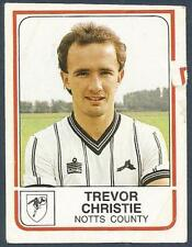 PANINI FOOTBALL 84-#210-NOTTS COUNTY-TREVOR CHRISTIE