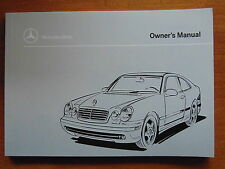 1999 Mercedes Benz CLK 430 Owners Manual - W208 - New Old Stock Discontinued