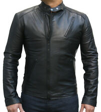 Iron Man Tony Stark Movie Replica Black Leather Jackets