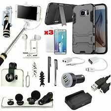 17 x Case Cover Charger Fish Eye Monopod Headset Accessory For Samsung Galaxy S7