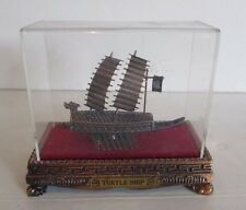 Korean Turtle War Ship Die-cast Replica in Display Admiral Yi